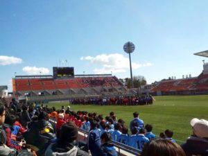さいたま市北部サッカー少年団卒団式