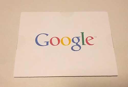 Google Adsense PINカード