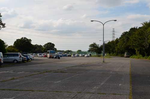 元荒川緑地多目的広場(岩槻文化公園)駐車場 通称村国グランド
