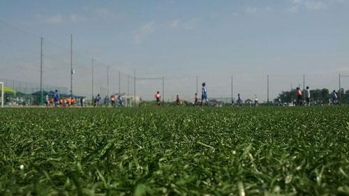 鴻巣市 上谷総合公園人工芝サッカー場グランド