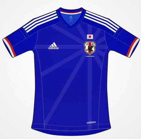 日本代表新ユニフォーム