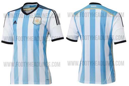 新ユニフォーム2014 アルゼンチン