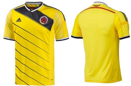 新ユニフォーム2014 コロンビア