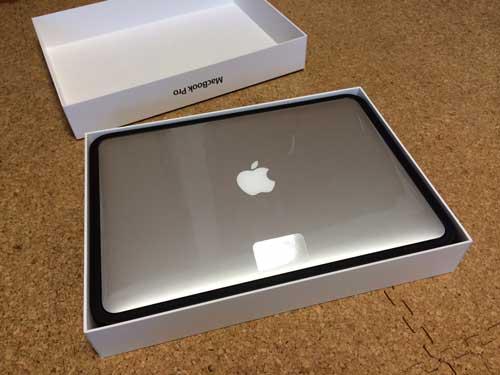 MacBook Pro Retinaディスプレイ(2600/13.3 ME866J/A 13.3型 アップル マックブック プロ ME866JA)