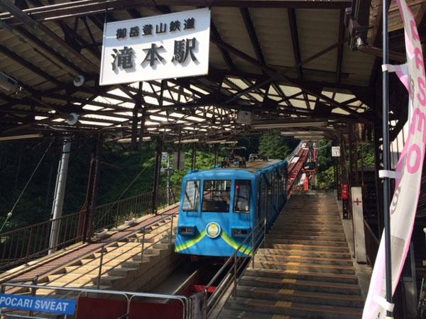 滝本駅ケーブルカー