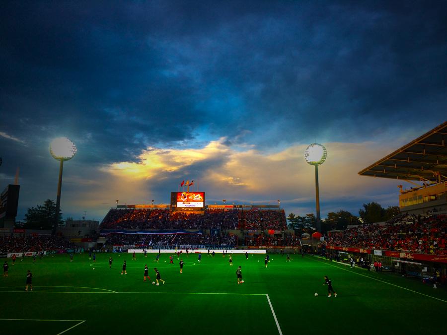 雨上がりのNACK5スタジアム